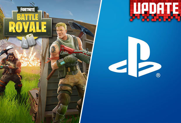 Fortnite battle royale for ps4