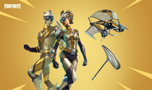 All yellow skins fortnite