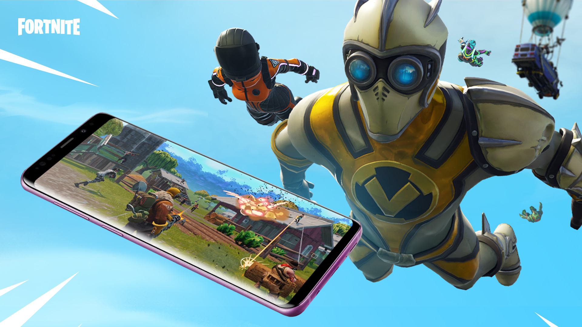 Fortnite for android s9