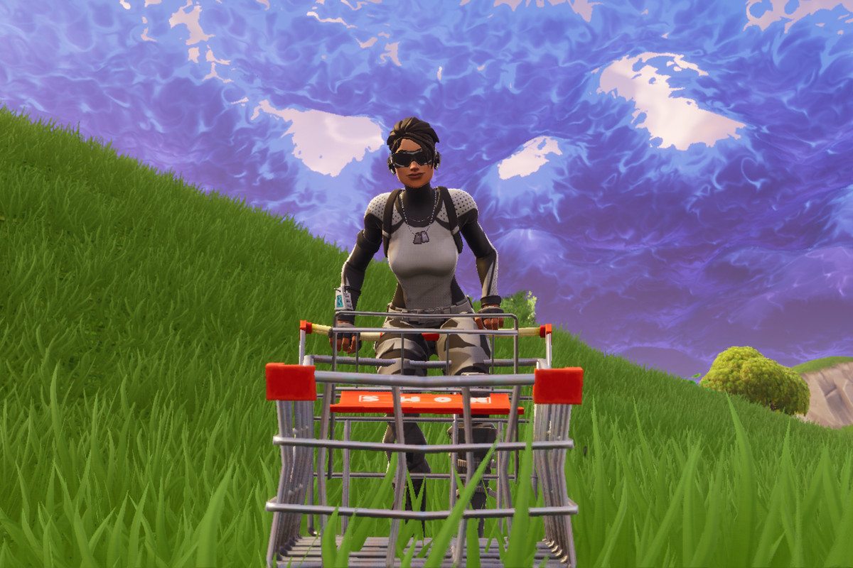 Fortnite shop cart