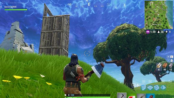 Fortnite remove construction