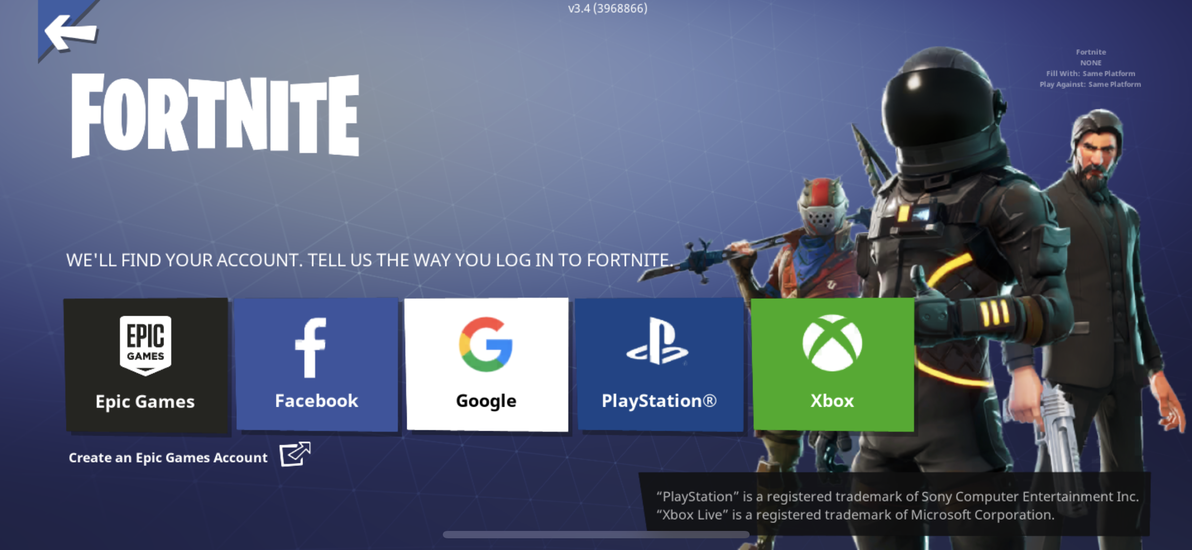 Fortnite ps4 mobile