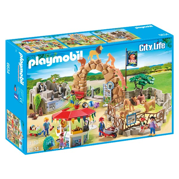 Playmobil aire de jeux king jouet