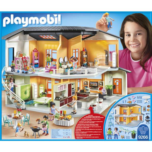 Playmobil la maison moderne jouet club