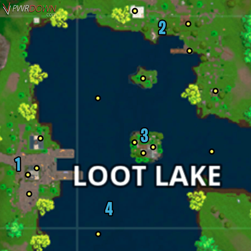 Fortnite br loot map