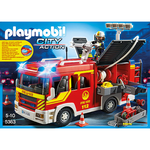 Playmobil city action fire engine