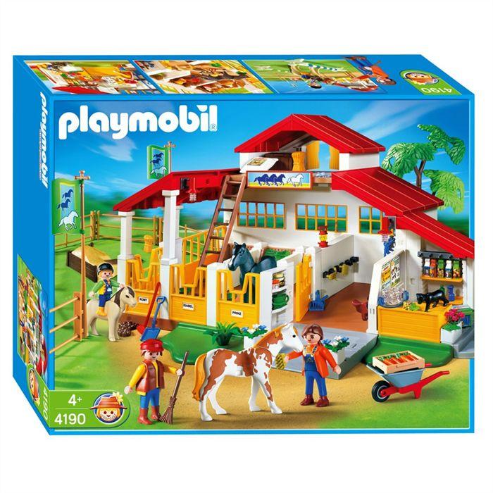 Playmobil le haras pas cher