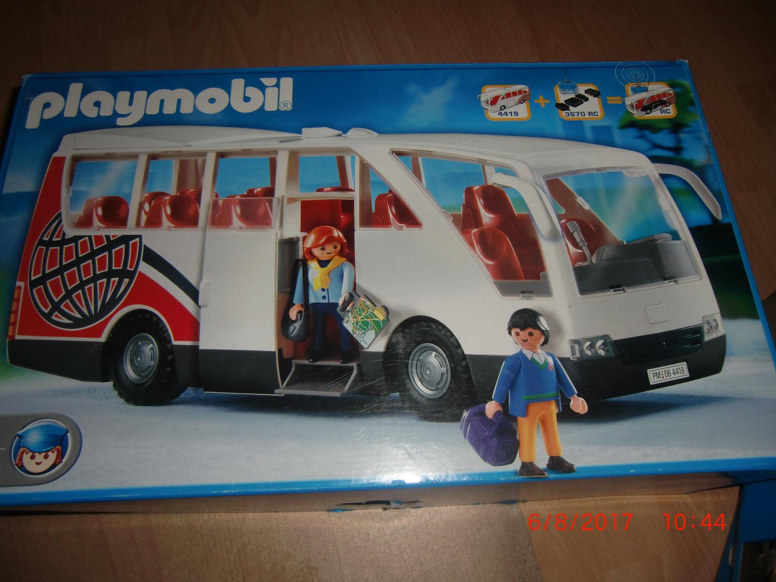 Playmobil bus 4419 bauanleitung