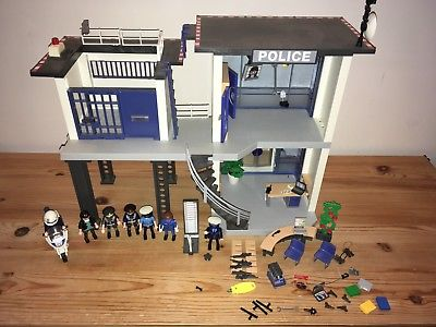Playmobil police station instructions 5176