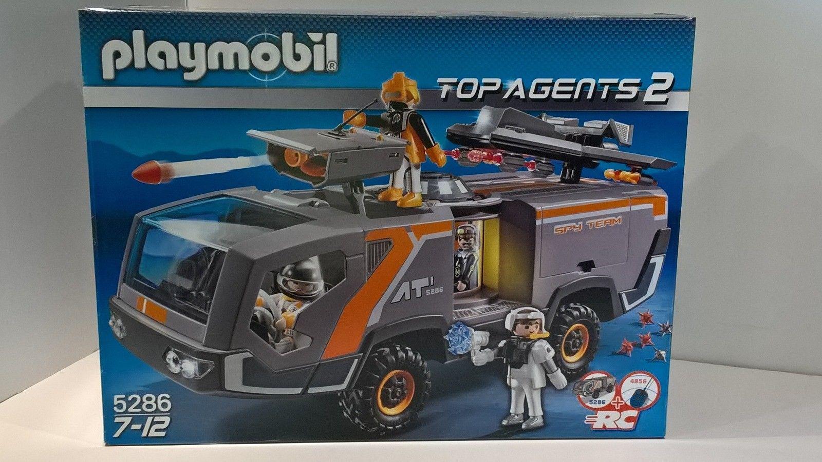 Playmobil camion agent secret 5286