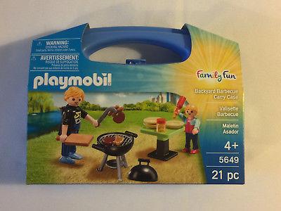 Playmobil 5649 valisette barbecue