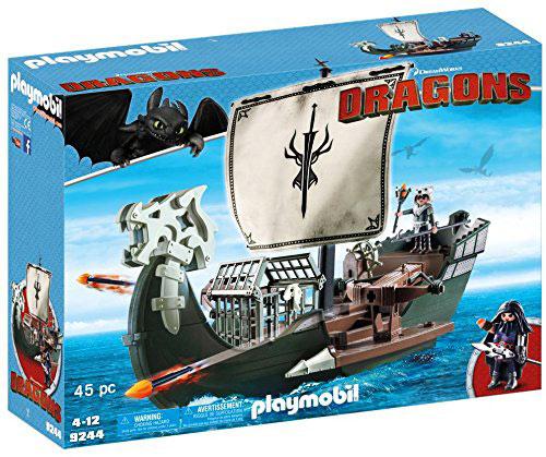 Playmobil bateau chevalier