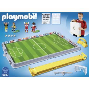 Playmobil terrain de foot pas cher