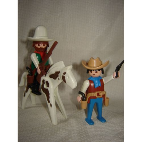 Playmobil western pas cher