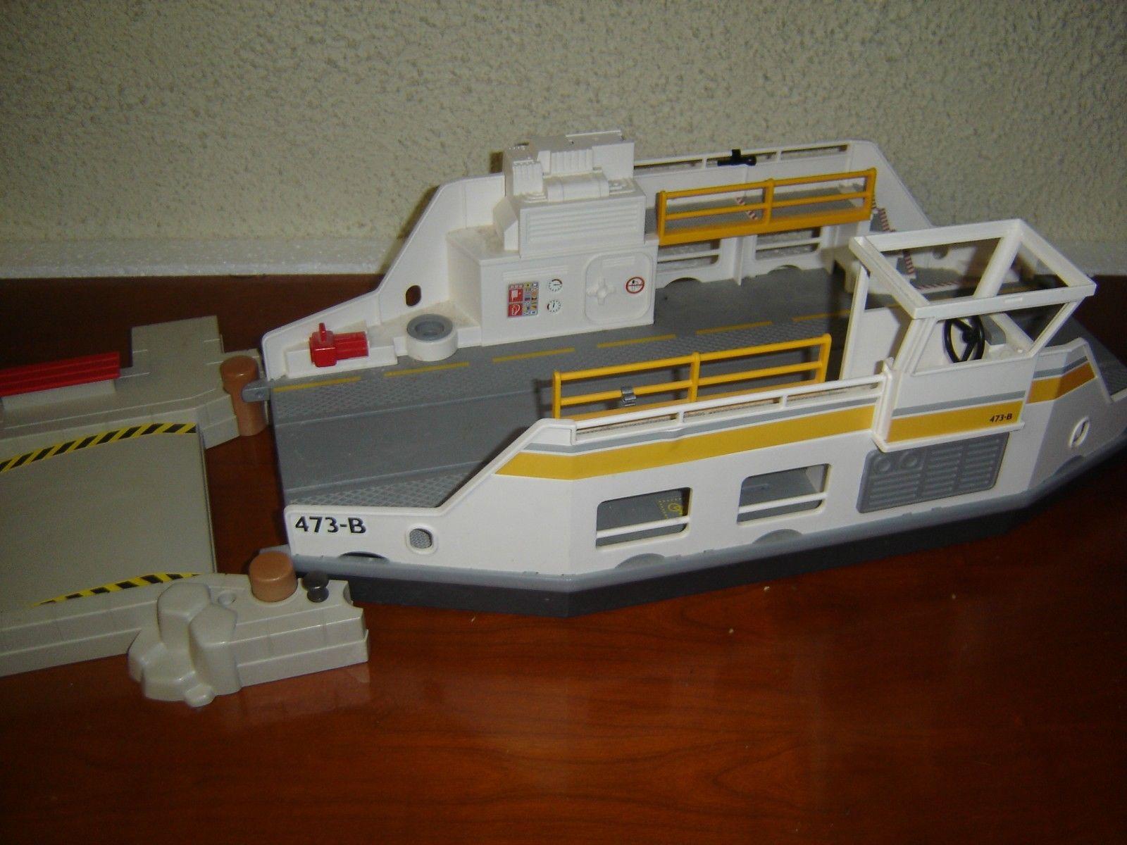 Playmobil bateau ferry