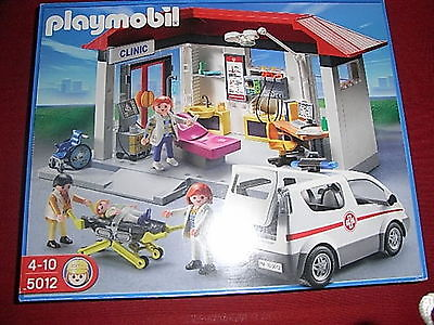 Playmobil ambulance krankenwagen 5012
