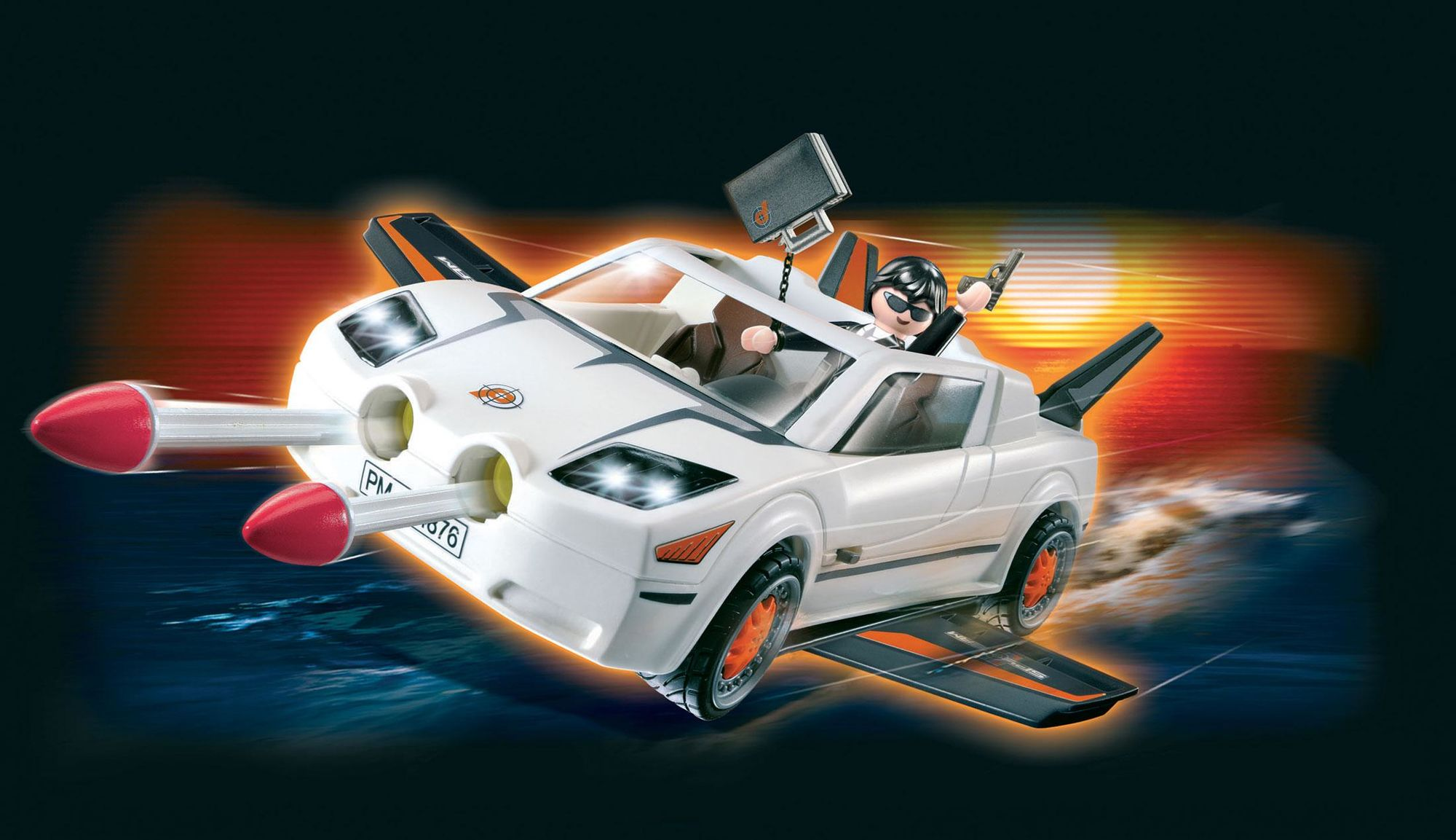 Playmobil top agents - secret agent super racer