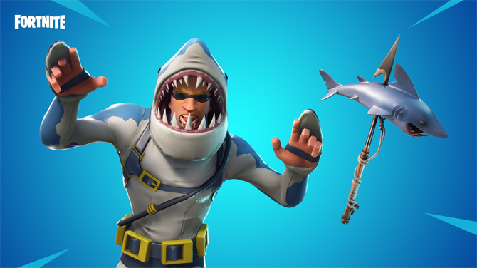 Fortnite skin machoire