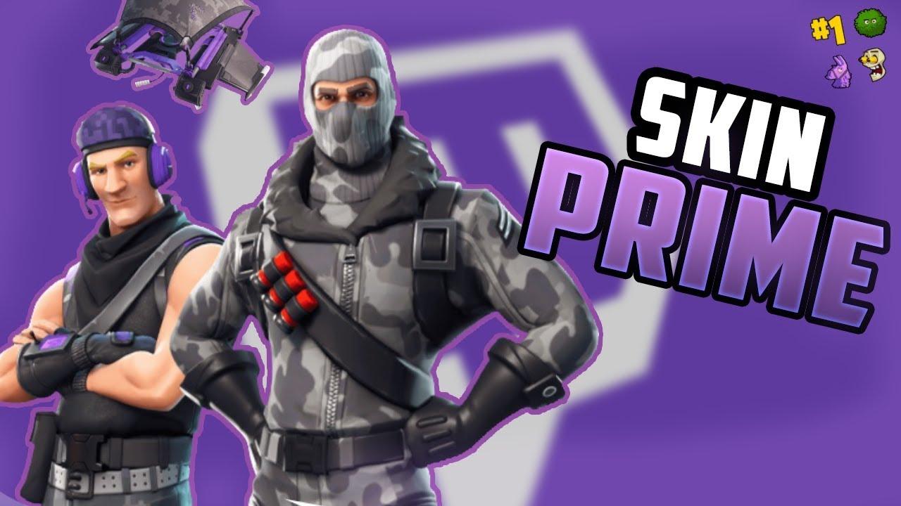 Fortnite skin for amazon prime