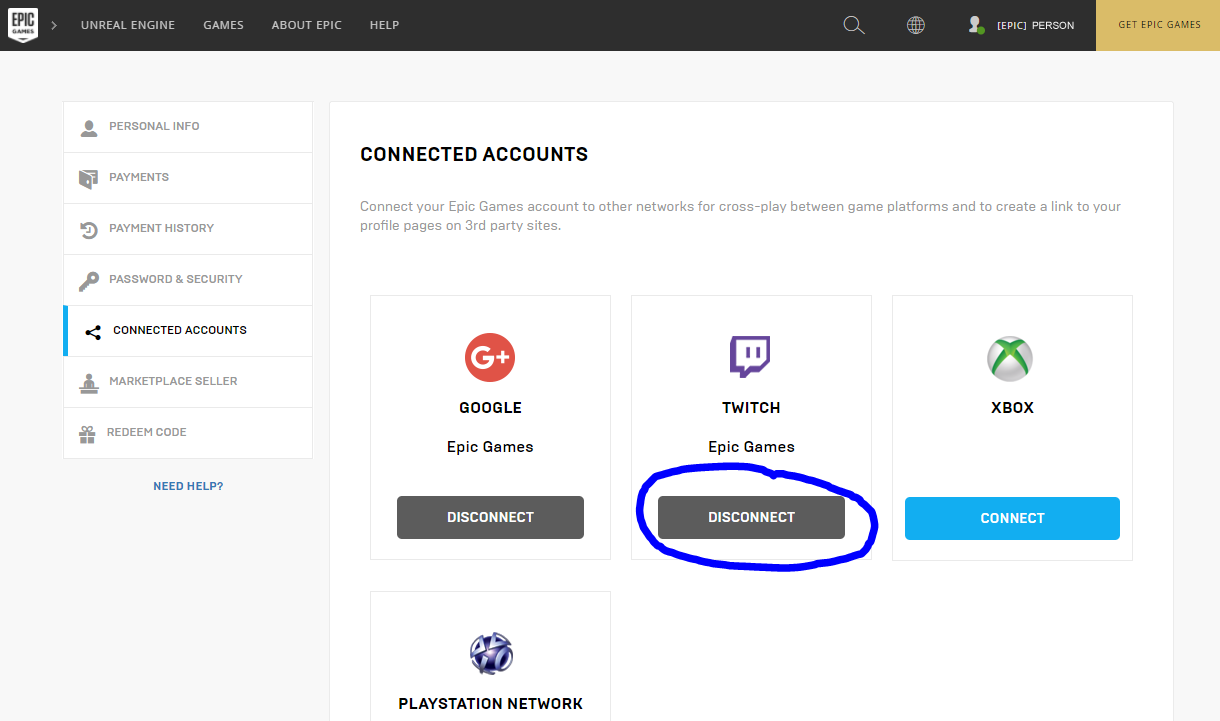 Fortnite account deactivated