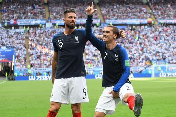 Celebration fortnite griezmann france