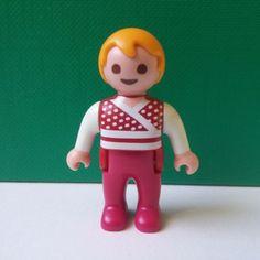 Playmobil blonde boy