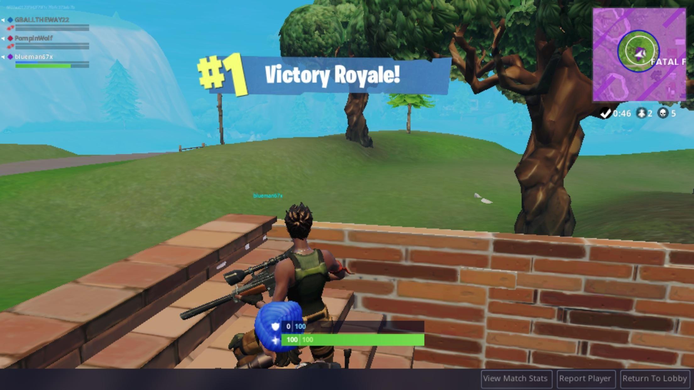 Fortnite mobile victory royale