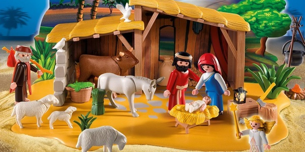 Amazon playmobil reyes magos