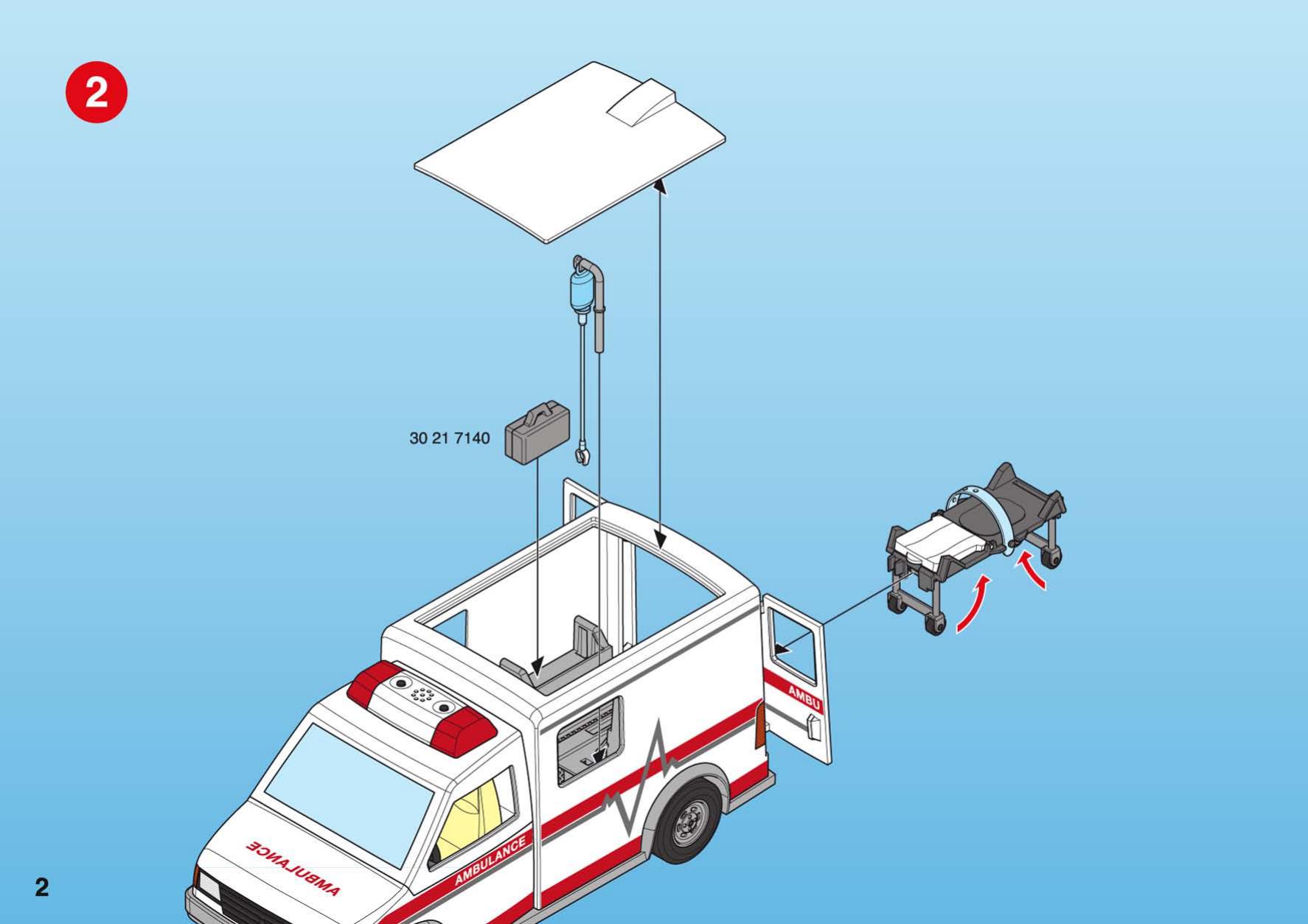 Playmobil ambulance manual