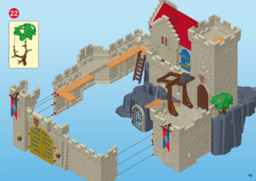 Chateau fort playmobil 6000 notice
