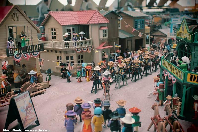 Diorama playmobil cirque