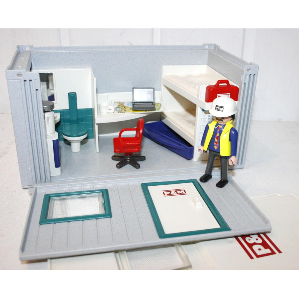 Playmobil cabane chantier
