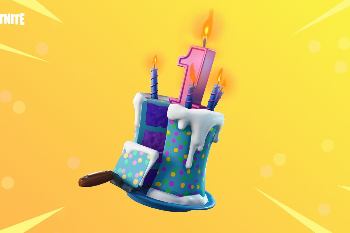 Fortnite epic games birthday