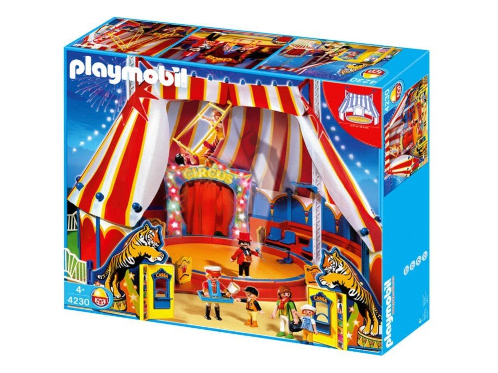 Playmobil cirque notice