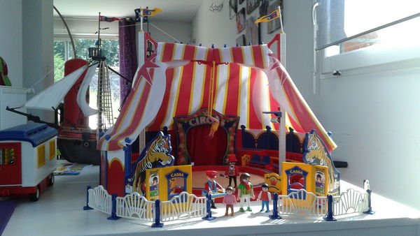 Cirque playmobil lumiere