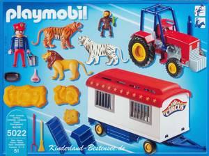Playmobil cirque remorque