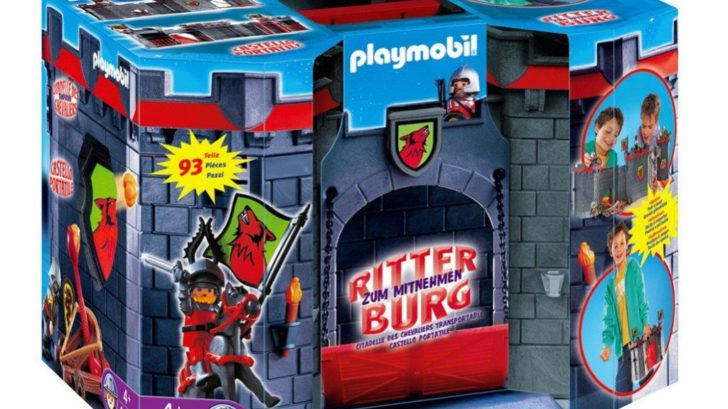 Playmobil chateau fort loup