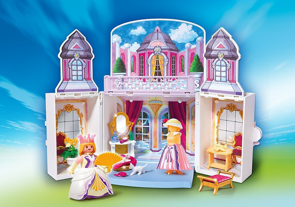 Playmobil chateau fort pliable