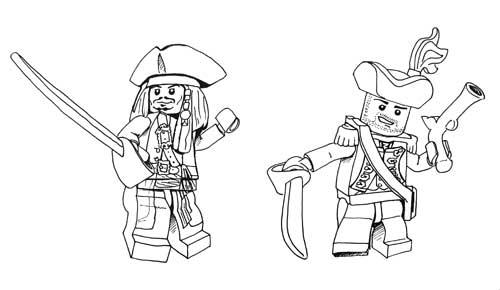 Playmobil pirate dessin - Coloriage playmobil pirate ...