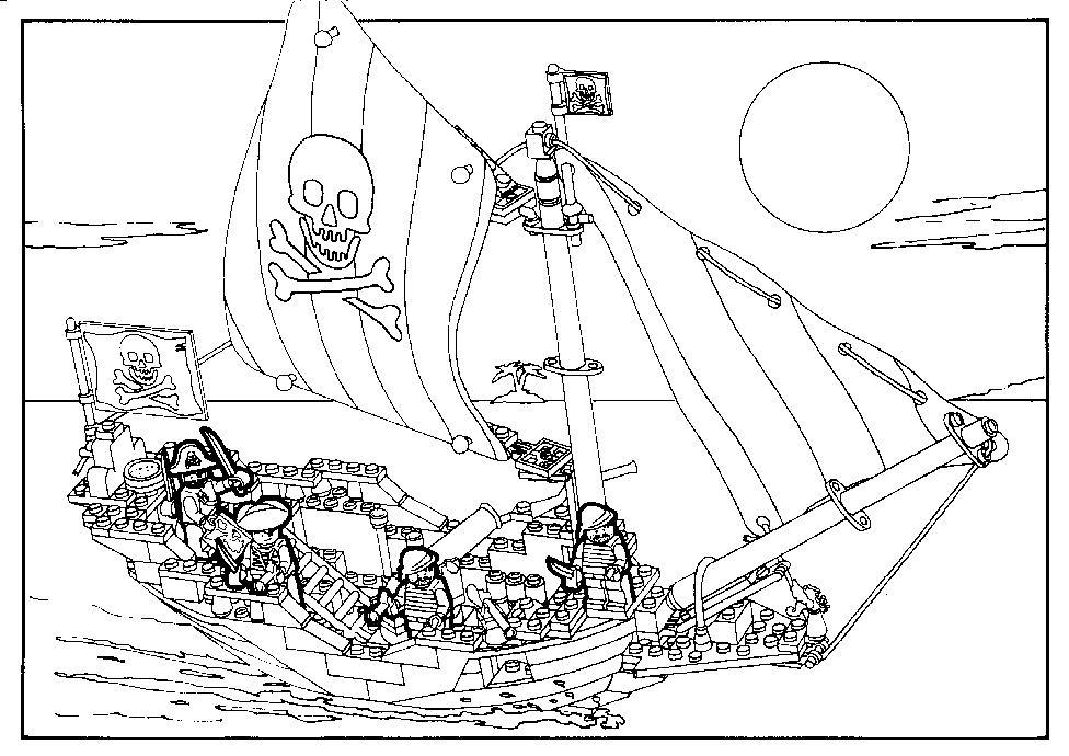 Playmobil Pirate Coloriage Escapadeslegendesfr