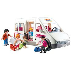 Playmobil barbie bus