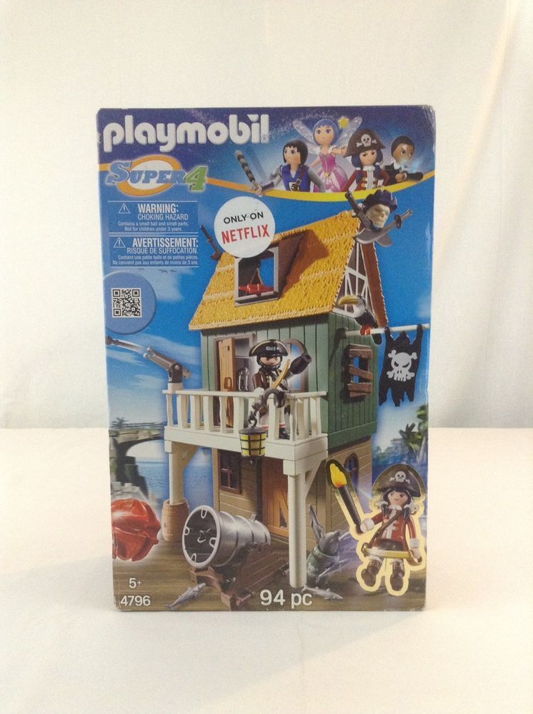 Playmobil pirate fort with ruby