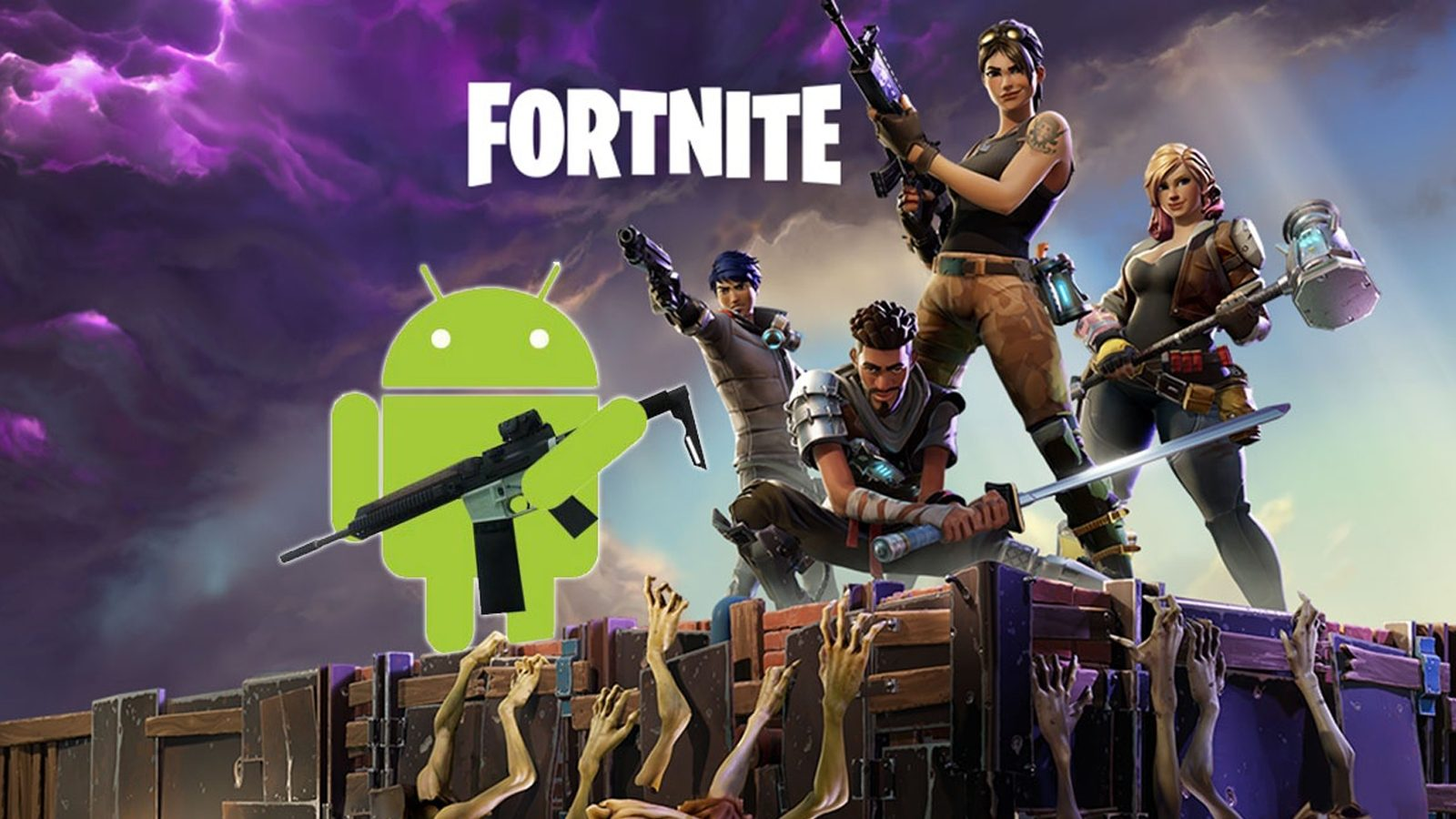 Fortnite android decompte