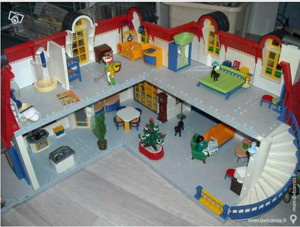 Extension Maison Moderne Playmobil 5586 Escapadeslegendes Fr