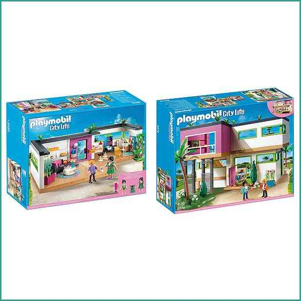 extension maison playmobil city life. Black Bedroom Furniture Sets. Home Design Ideas