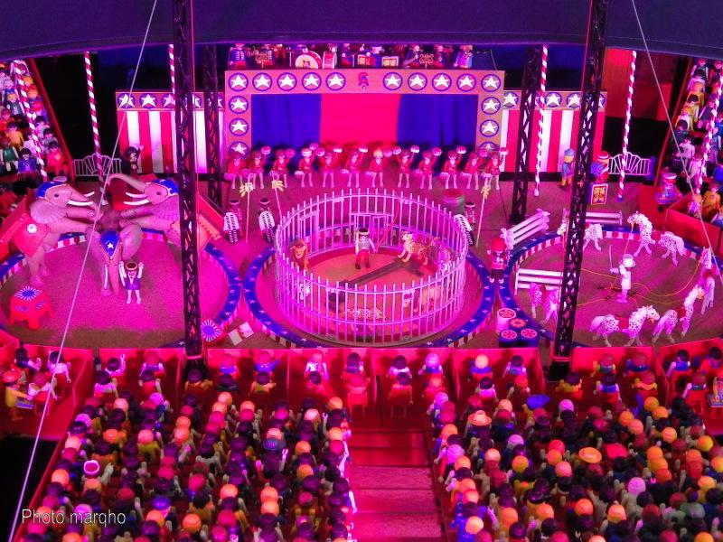 Cirque playmobil americain
