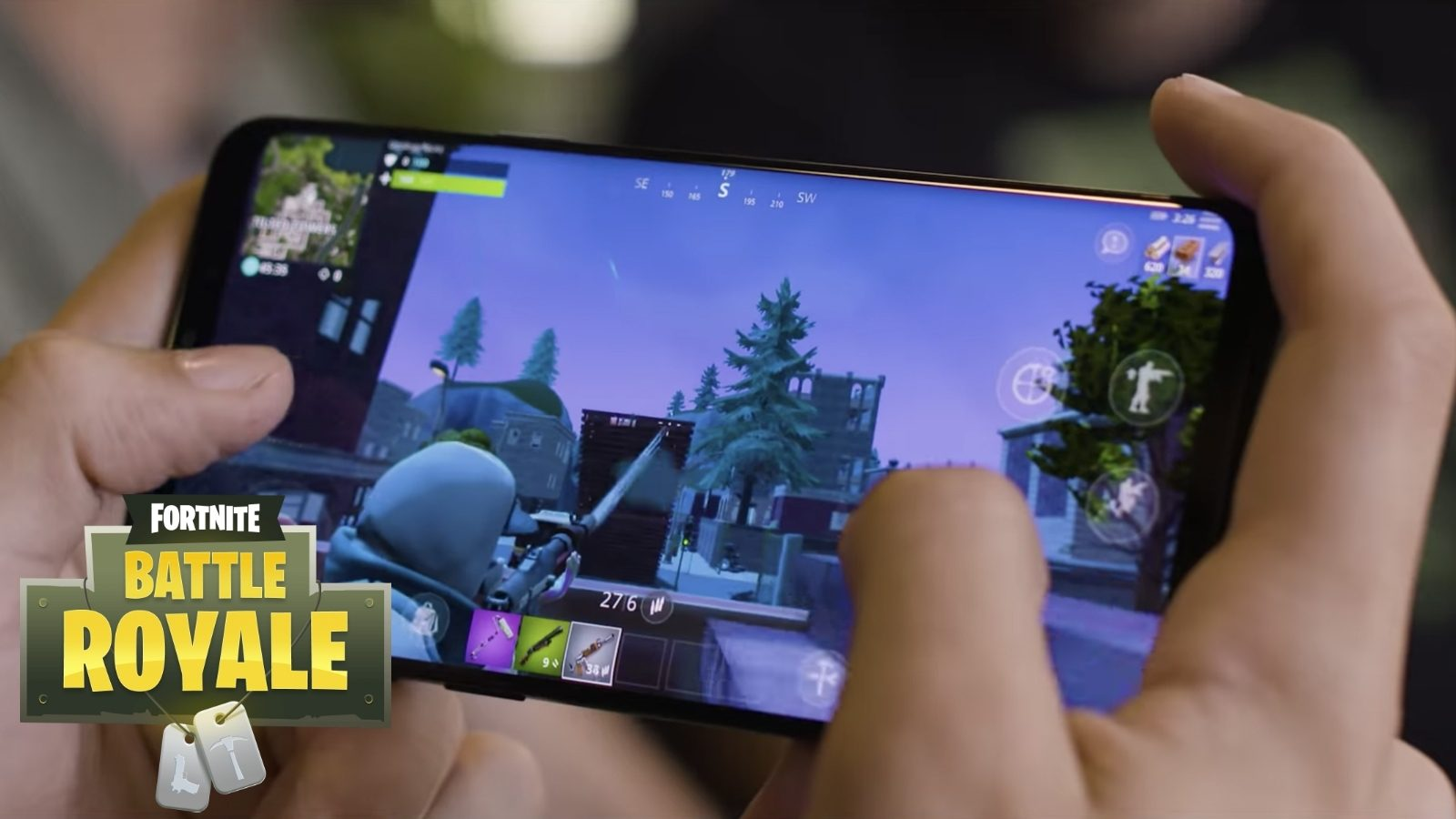 Fortnite android date launch