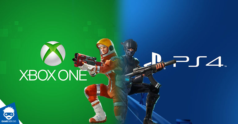 Can fortnite cross play with xbox and ps4
