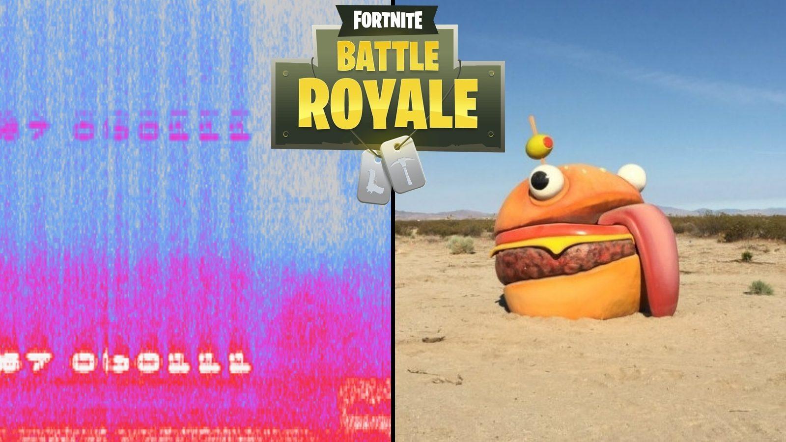 Fortnite burger worker