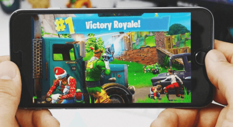 Fortnite battle royale app on android